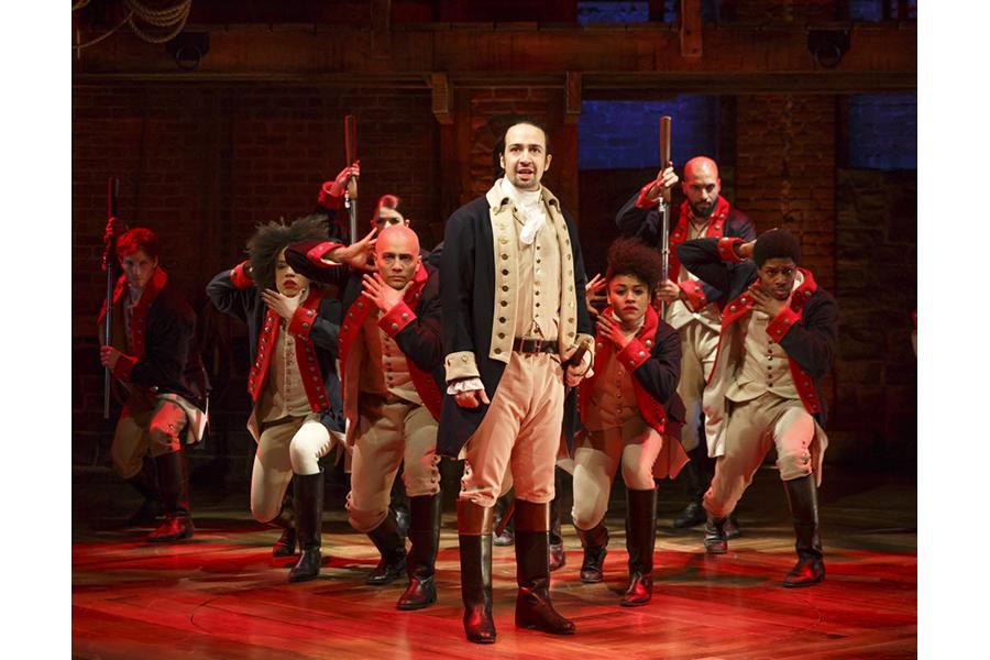 Hamilton at Richard Rodgers Theatre